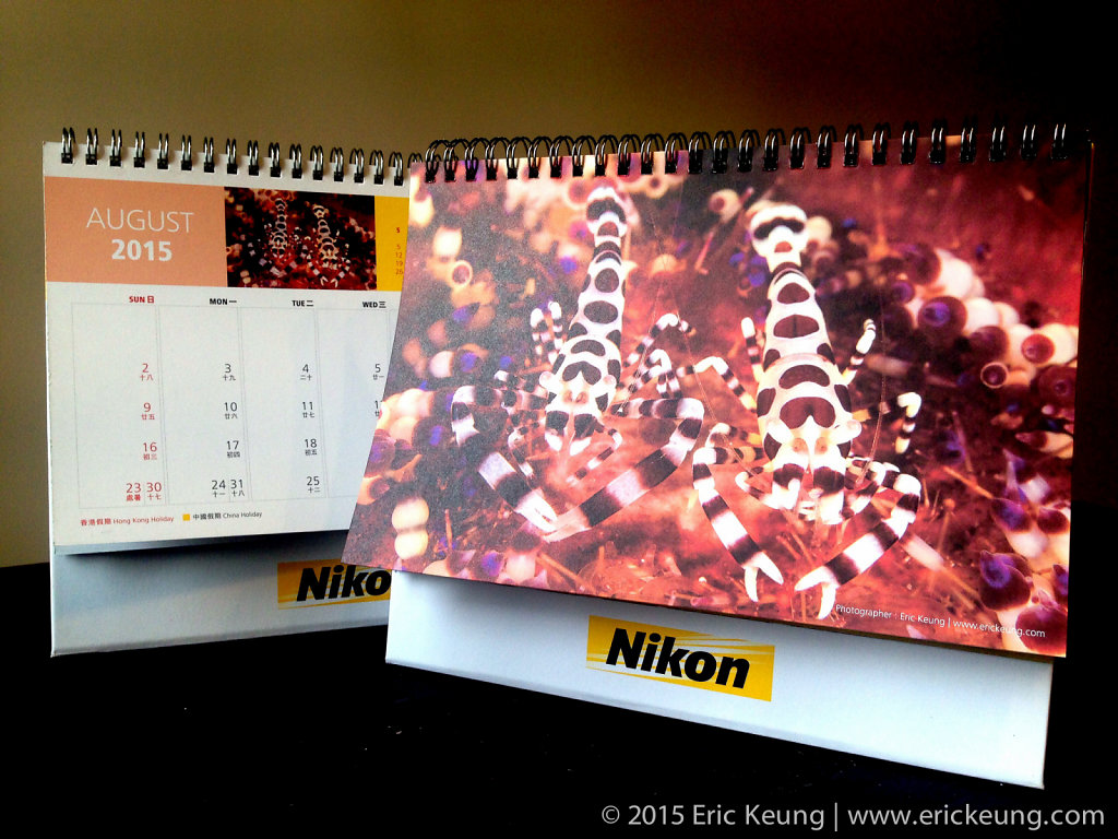Nikon Hong Kong 2015 Calendar