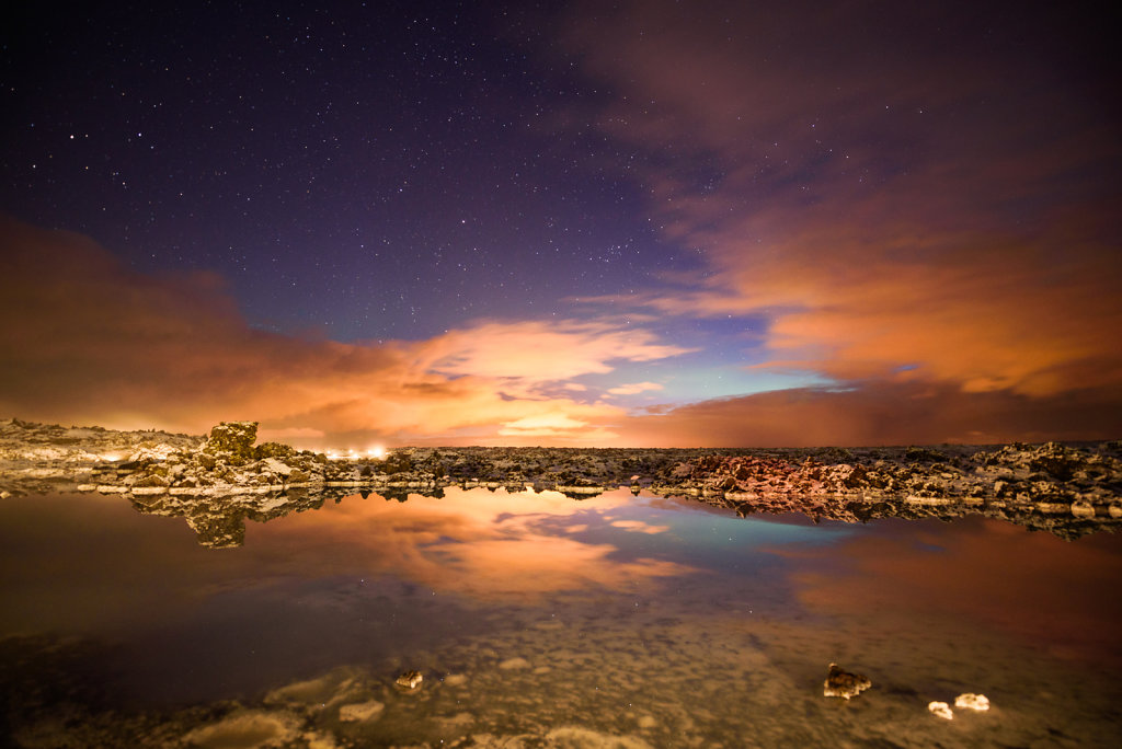 A Night at Blue Lagoon Iceland