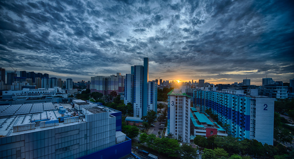 Good morning, Singapore!