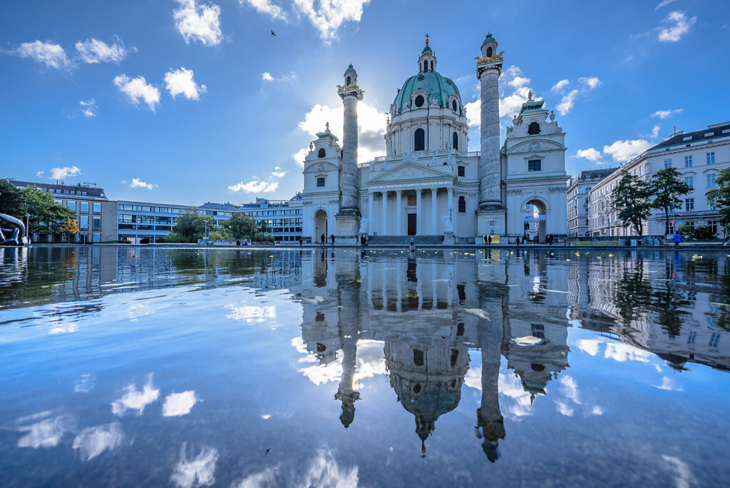 Karlskirche (St. Charles's Church), Vienna, Austria