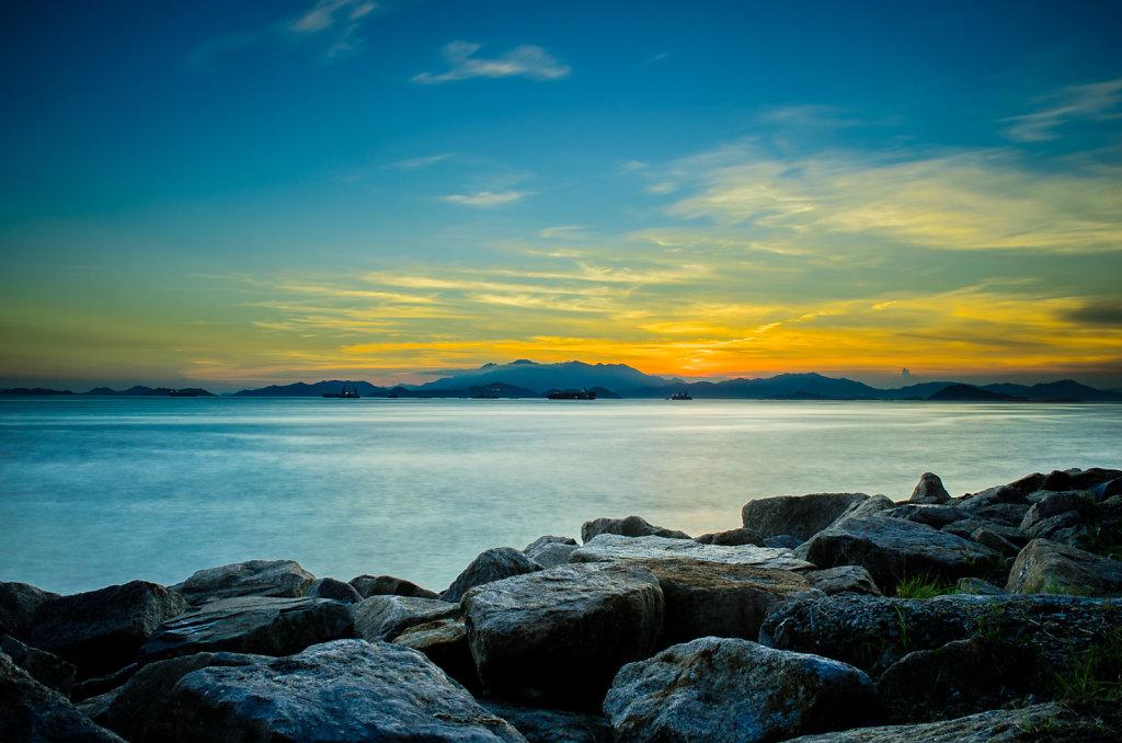 Rocking sunset