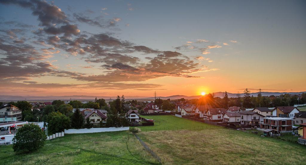 Sunrise at Sacele, Romania