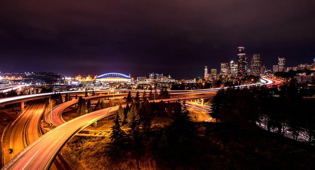 Best Night View of Downtown Seattle